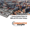 LM Series - Energy Guiding Chains for RMG and RTG Crane Trolleys