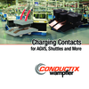 Charging-Contacts for AGVs, Shuttles and More