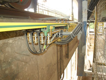 Conductor Bar System for Crane electrification