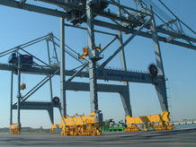 Energy supply for Spreader on 6 Container Cranes (ship to shore)