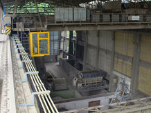 Process Cranes in a cement works